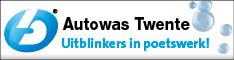 Banner Autowas Twente lokaal blok half banner