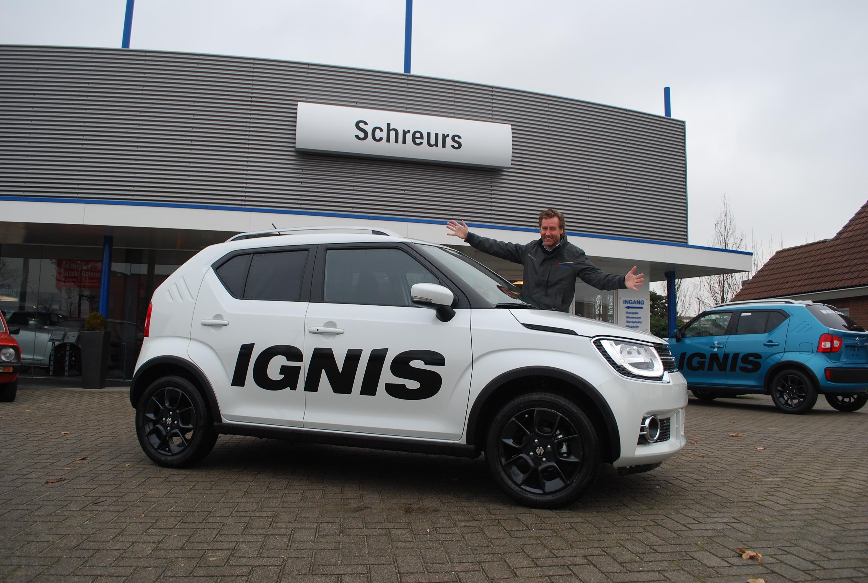 Gratis Infotainmentsysteem Bij Aankoop Nieuwe Suzuki Ignis