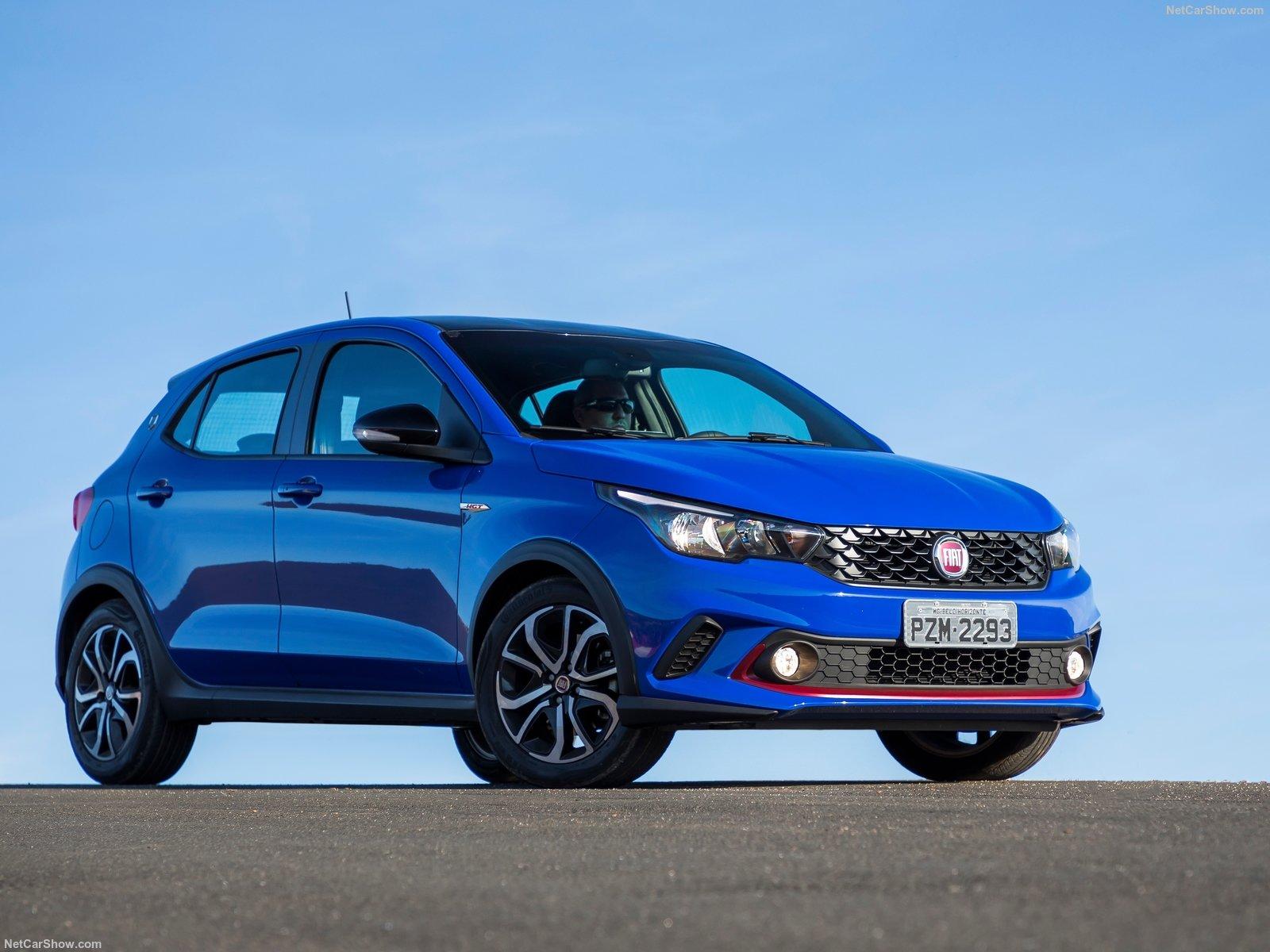 Braziliaanse Fiat Argo Basis Voor Nieuwe Punto Autopaper Meer