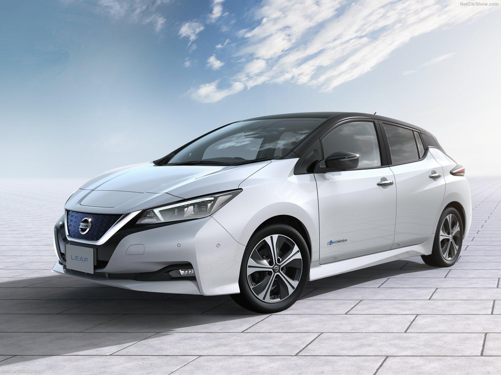 De Fonkelnieuwe Versie Van De Nissan Leaf Is Er Eindelijk