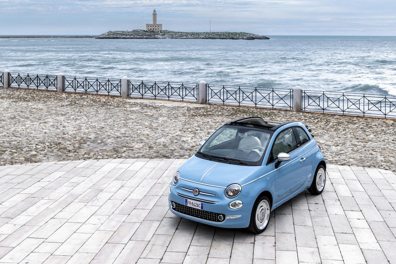 Fiat 500c Spiaggina 58 Autopaper Meer
